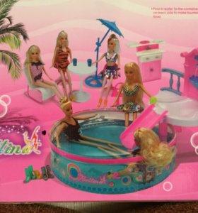 Бассейн для Барби