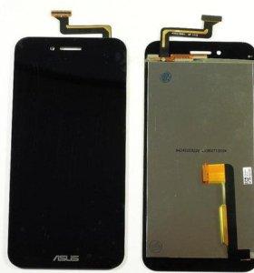 Дисплей Asus PadFone S (PF500KL) модуль Черный