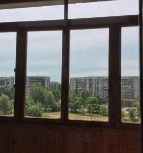 Окно деревянное.