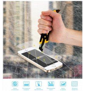 Защитные стекла для смартфонов (на разные модели)
