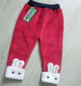 Новые штаны на девочку 2 года
