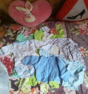 Набор (коробки) детских вещей
