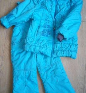 Осенний костюм для девочки