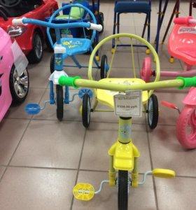 Велосипед 3х колесный новый