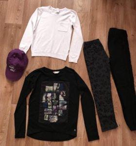 Вещи для девочки, р-р 130-140 см