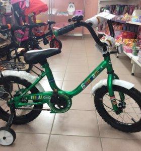 Велосипед 4х колесный новый
