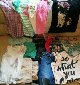 Пакет летних вещей на девочку 140-152