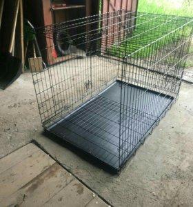 Клетка для крупной собаки