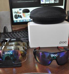 Велосипедные очки POC со сменными линзами