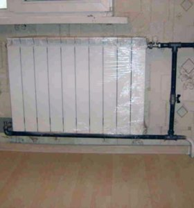 Газоэлектросварочные работы, отопление