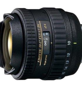 Tokina Fisheye AT-X 10-17mm f/3.5-4.5 AF DX
