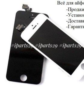 Дисплей Экран для Айфон iPhone 5 5s 6 6s 6+ 6s+