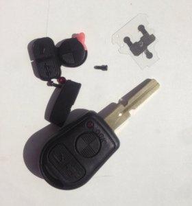 Ключ замка зажигания BMW e 39 ( дорест )