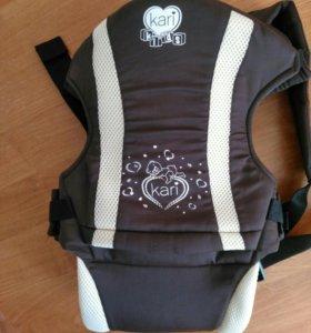Рюкзак переноска для малышей с 3,5кг.до12кг