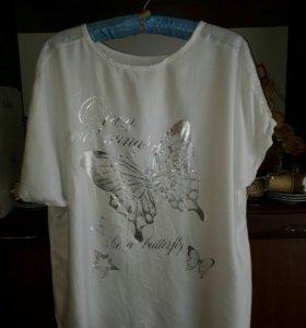 Новая футболка 50-52