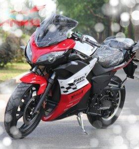 Городской эко мотоцикл (электрический)
