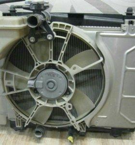 Радиатор охлаждения двигателя TOYOTA RACTIS SCP100