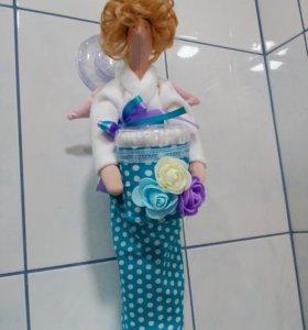 Кукла Тильда Банный Ангел