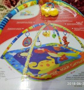 Развивающий коврик для малыша 0+