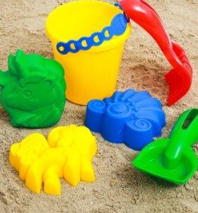 Набор для игр в песочнице, 6 предметов