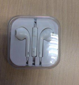 Наушники для iPhone 7 оригинал.