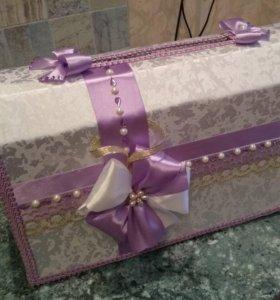Продам сундук для свадебных подарков