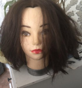 Манекен для стрижек и причёсок