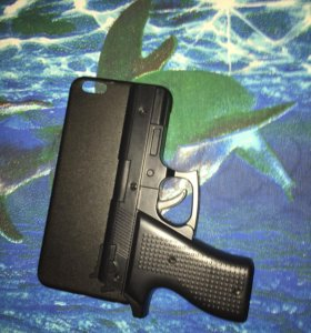 Чехол Пистолет 6+ , 6s+