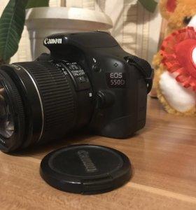 Профессиональный фотоаппарат canon 550D kit «обмен