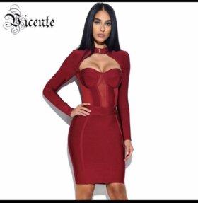 Новое эффектное платье бандаж