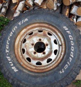 Колёса внедорожные (грязевые)