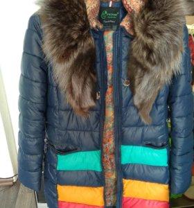 Зимние пальто на сантепоне