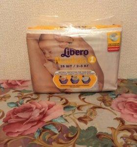 Продам новые памперсы Libero