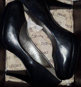 Новые кожаные женские туфли Ria Rosa