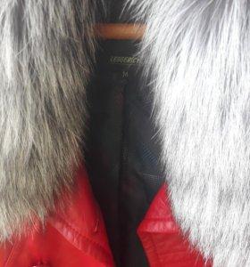 Курточка кожанная