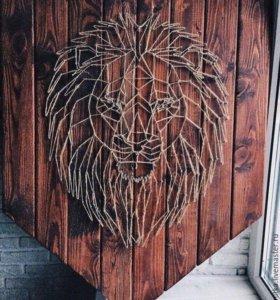 Картина / пано лев 🦁