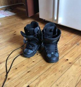 Сноуборд ботинки DC
