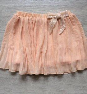 Плиссированная юбка для девочки