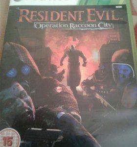 Диск resident evil operation raccoon city