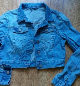 Куртка джинсовая TOPSHOP, 40-42рр, маркировка 36.