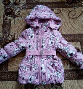 Красивая курточка 110-116