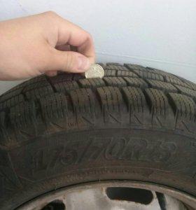 Зимние шины с дисками r13