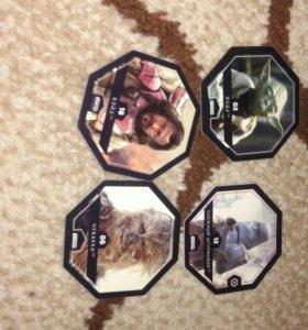 Карточки , звездные войны л