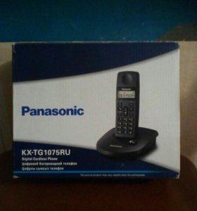Цифровой безпроводной тел. Panasonic kx-tg1075ru
