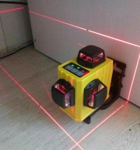 Лазерный уровень 12 линий