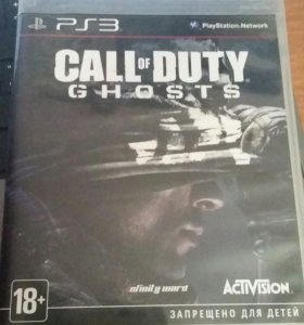 Продам Call of duty ghosts