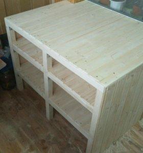 Изготовление стелажей