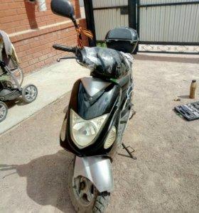 Скутер super moto