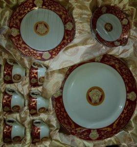Набор 43предмета фарфоровой посуды
