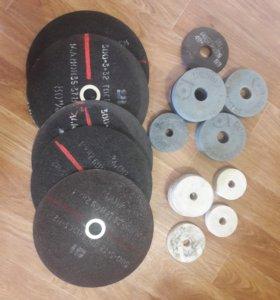 Круги точильные в ассорт., диски отрезные d=300мм
